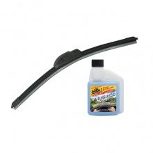 Combo gạt mưa không xương Viair 323 (24 inch/600 mm)-nước châm kiếng đậm đặc Formula 1