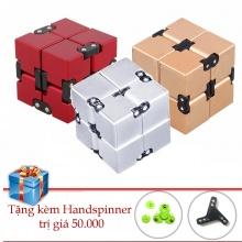 Infinity cube nhôm khối quay lập phương tặng hand spinner Legaxi