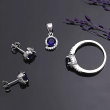 EROPI-Bộ trang sức bạc Sea Of Vitality