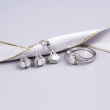 EROPI-Bộ trang sức bạc Tiaran Beauty