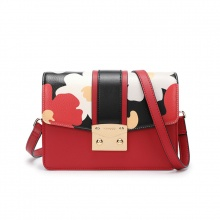 Túi hộp sọc Venuco Madrid S397 màu đỏ đen
