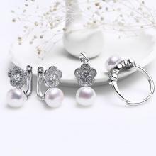 Bộ trang sức bạc Tiffany Pearl