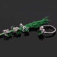 EROPI-Bộ trang sức bạc Emerald Luxury Eropi