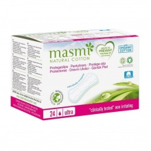 Băng vệ sinh hàng ngày hữu cơ siêu mỏng Masmi (24m)