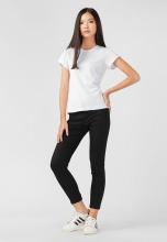 Quần jeans nữ PAPKA dài 4011-Đen