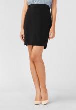 Váy nữ Papka công sở xẻ túi hông 4042-Đen