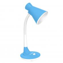 Đèn bàn Điện Quang ĐQ DKL08 BW BW (kiểu chóa nhựa, xanh da trời-trắng, bóng warmwhite)