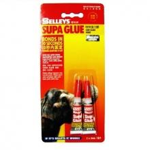 Bộ 2 tuýp keo con voi đa năng Selleys Supa Glue (3ml / Tuýp)