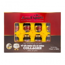 Tổ yến chưng sẵn 34% - Đường phèn Collagen Anpha Export