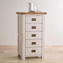 Tủ ngăn kéo đứng Sintra 5 hộc gỗ sồi - Cozino