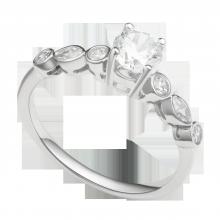 Nhẫn bạc đính đá PNJSilver Wanderlust XMXMK000186