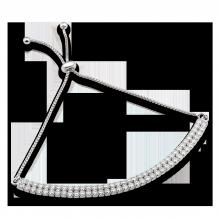 Lắc tay bạc PNJSilver đính đá 14455.000