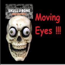 Mặt nạ đầu lâu có mắt di chuyển Halloween Uncle Bills UH00711