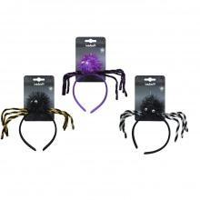 Băng cột đầu nhện lấp lánh 3 loại Halloween Uncle Bills UH00737