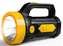 Đèn Pin LED Điện Quang ĐQ PFL09 R BLY (Pin sạc, Đen- Vàng)