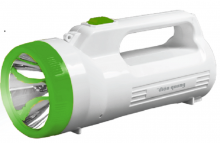 Đèn pin LED Điện Quang ĐQ PFL06 R WG (Pin sạc, Trắng-Xanh lá)