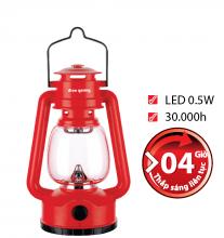 Đèn sạc Led Điện Quang ĐQ PRL04 R (0.5W, daylight, đỏ)