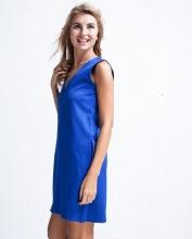 Đầm suông form rộng DRE016 (xanh midnight)