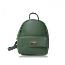 Balo thời trang Verchini màu xanh rêu 008611