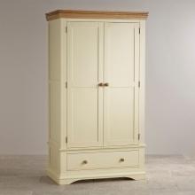 Tủ quần áo Canary 2 cánh 1 ngăn kéo gỗ sồi 1m4- COZINO
