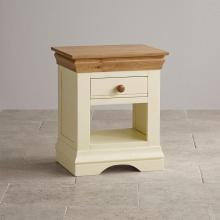 Tủ đầu giường Canary 1 ngăn gỗ sồi- Cozino