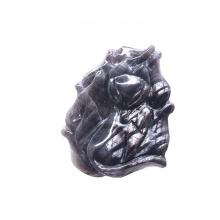 Mặt dây chuyền hồ ly Coridon Sapphire PDFSAP01 - VietGemstones