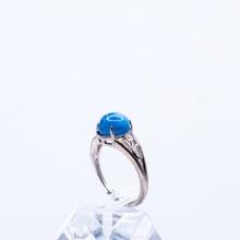 Nhẫn bạc cao cấp đính đá Kyanite Vip Freesize RKYA01 - VietGemstones