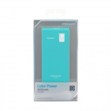 Sạc dự phòng Pisen Color Power  9.600mAh