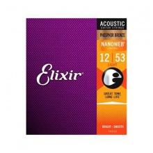 Dây đàn guitar acoustic Elixir (cỡ 12)