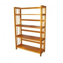 Kệ sách gỗ 4 tầng 80cm (Vàng)