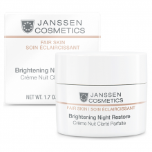 Kem dưỡng da ban đêm làm trắng sáng da - Janssen CosmeticsBrightening Night Restore 50ml