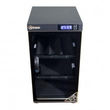 Tủ chống ẩm Nikatei NC-50S viền nhôm mạ bạc silver hoặc vàng (dung tích 50 lít)