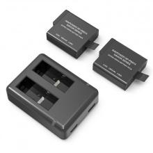 Bộ pin sạc Gopro Hero 5,6 Black chính hãng Ravpower RP-PB074