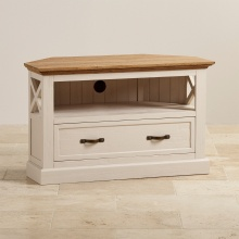 Tủ tivi góc Sark gỗ sồi - Cozino