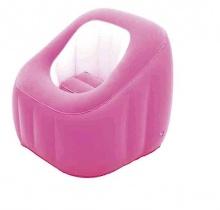Ghế bơm hơi hình bánh - màu hồng -75046