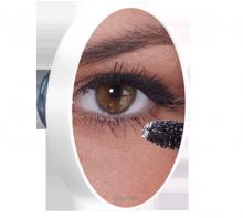 Gương trang điểm gắn tường của mặt gương Lanaform Pop (x10 lần)