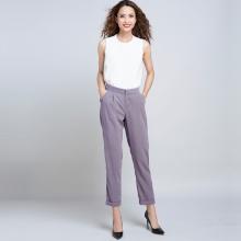 Quần baggy lưng thun thời trang thiết kế Hity PAN022 (tím violet)