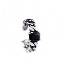 Nhẫn Hàn Quốc black crystal - Tatiana - NB2277 (Đen)