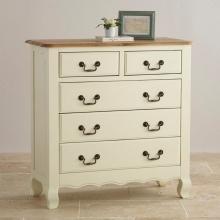 Tủ ngăn kéo ngang Skye 5 hộc gỗ sồi - Cozino