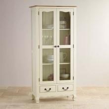 Tủ trưng bày Skye gỗ sồi 1m- Cozino