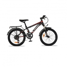 Xe đạp địa hình trẻ em Fornix FC27 (đen đỏ)-Bảo hành 12 tháng