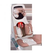 Đệm massage 3D hồng ngoại cao cấp Lanaform excellence
