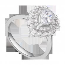 Nhẫn bạc đính đá PNJSilver Retro Forest XMXMK000193
