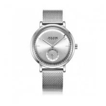 Đồng hồ nữ dây thép Julius Hàn Quốc JA-1065A trắng bạc