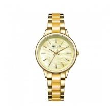 Đồng hồ nữ Julius Hàn Quốc dây thép JA-1053A vàng