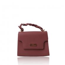 Túi xách thời trang Verchini màu hồng ruốc 007600
