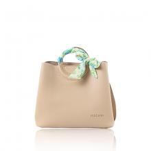 Túi xách thời trang Verchini màu kem 009837