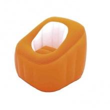 Ghế hơi hình bánh - màu cam -75046