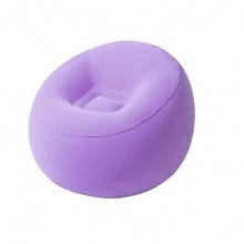 Ghế hơi hình quả đào  75052 màu tím