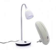 Combo đèn bàn LED Nanolight TLL-001 và đèn ngủ LED cảm ứng NL-002